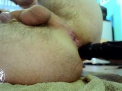 Hands Free Anal Orgasm