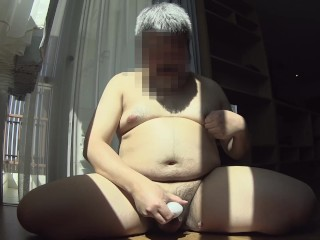 masturbation8 with TENGA EGG and cum