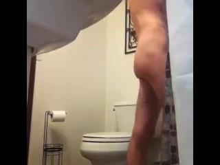 Big dick shower fun