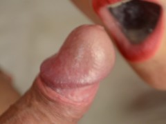 Slow motion compilation - cum in mouth, cum play, cum fetish