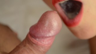 Slow motion compilation cum in mouth, cum play, cum fetish