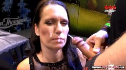 Hot Brunette MILF Jasmin Joy takes it Hardcore - German Goo Girls
