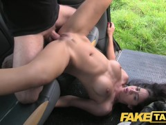 Fake Taxi Perfect tits and a great arse gets the full taxi treatment