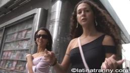 Nikki Montero pickup Monica Mattos on the streets for sex in Sao Paulo