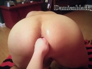 Girlfriend Fisting My Ass