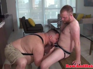 Asslicked bare fucked superchup facialized