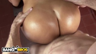 BANGBROS - Colombian MILF Pornstar Cielo Gets Her Latin Big Ass Fucked Perky natural