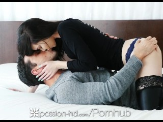 Preview 2 of PASSION-HD Pretty face pale Bunnie Hughes dripping pussy fucked