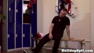 Uk and assfucked lockerroom spunked in jock lockerroom english