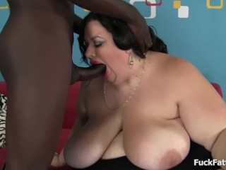 BBC Takes On Big Fat BBW Slut