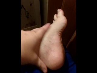 Clean my Dirty foot POV