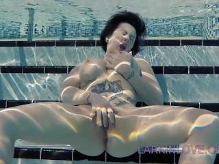 Larkin Love public masturbation finger fucking underwater full nudity