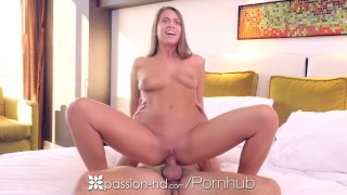 PASSION-HD Hotel morning breakfast fuck with brunette Jill Kassidy
