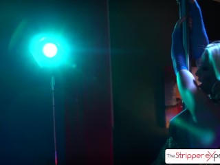 Preview 4 of The Stripper Experience - Watch Stevie Shae sucking and fucking a big dick
