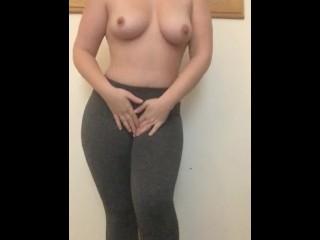 Yoga Pants STRIP tease!