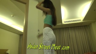 Quiet Asian Cutie SWallows Sperm  homemade bangkok thai hooker pattaya deep amateur young stocking girlfriend cute slut filth bondage hotel teenager