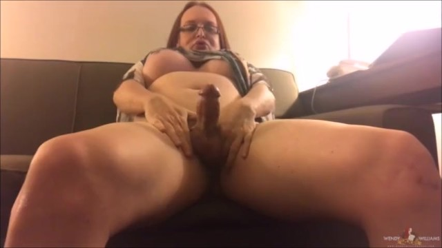 Wendywilliams tranny Bbw ts wendy williams stroking her fat shecock preview