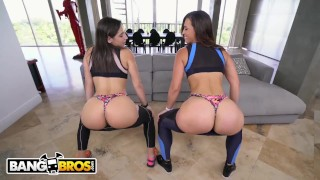 Bangbros twerking and abella fucking danger monroe kelsi vs miami twerk