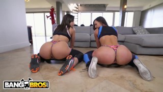 BANGBROS - Kelsi Monroe VS Abella Danger, Twerking and Fucking  big ass miami booty sexy pornstar assparade big dick twerk twerking dancing latina amazing latin big butt chonga ass parade