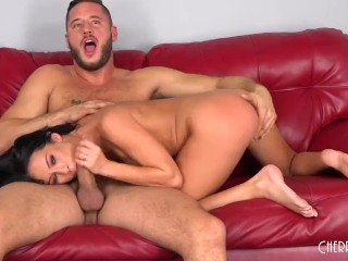Teen Megan Rain Cannot Get Enough Dick and Loves Every Minute of It LIVE