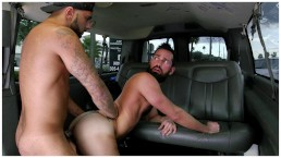 BAITBUS - Amateur Anal Gay Sex With A Man Bear in Miami!