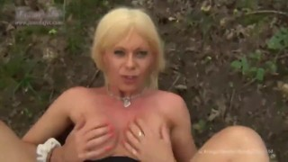 hot tranny fucked in the woods