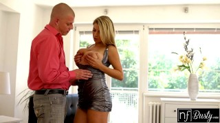 NF Busty - Sexy Blonde Sneaks Off To Fuck Sisters Man S3:E5 Mom teenager