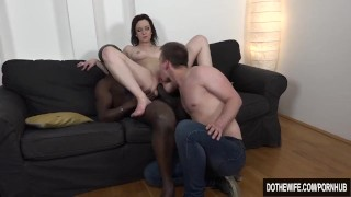 Interracial anal creampie housewife Interracial anal