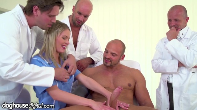 Claudia black nudes 3 doctors, 1 patient a young nurse gangbang