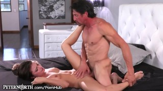 Step Dad Awakens To Teen Daughter Sucking His Thick Cock Cumshot step