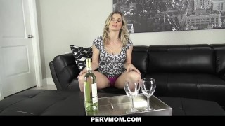 Pervmom pervert step my inspecting boobs moms point blonde