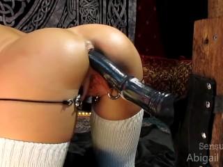 Spread Virgina Big Toy Anal FAP