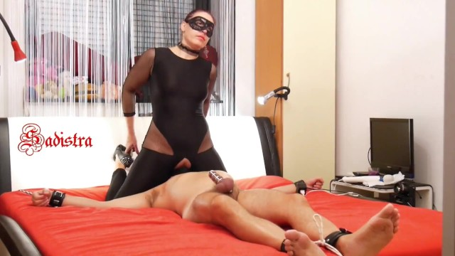 Cage domination Mistress sadistras cock cage heaven hell