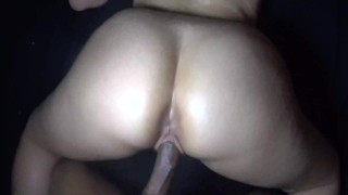 Perfect POV! Girlfriend fucked hard by BF's roommate... while he's at work!