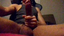 Cumming twice while watching porn