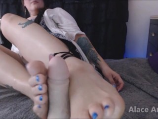 Cuckold Chastity Break for FootJob Preview