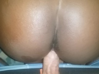 GF - Ebony Teen Doggystyle (POV) - BCWD