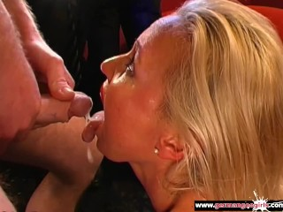 My Mother is a Nasty Cum Whore - German Goo Girls