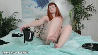 The Kinky Girl Next door gives you a private show Pornoacademie fuck