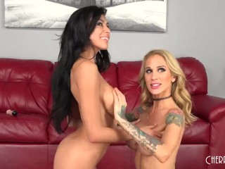 Heather Vahn and Sarah Jessie are Two Fit Lesbian Babes Who Use Their Toys!