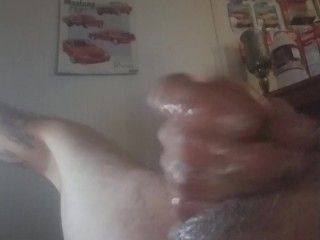 Home alone masturbating