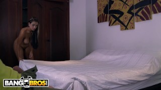 BANGBROS - Big Booty Latina Maid Sofia Cleaning My Apartment In Colombia! Smalltits petite