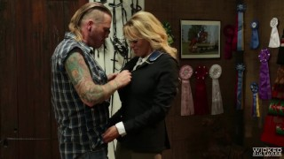 Wicked - Vendetta, Stormy Daniels takes a cock in her ass Cumshot spunk