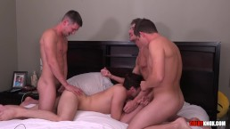 4 way Fuck fest w Jack Hunter, Christian Bay, Mickey Knox, Colby Chambers