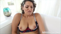 Alix Lovell Foot Fetish Masturbation