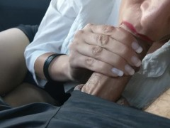 Extended: Good Secretary Sucks Cock in Car - Princess Poppy