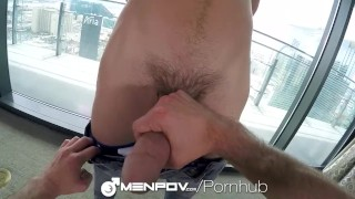 Preview 4 of MenPOV Home workout pov fuck with Austin Carter and Aidan Ward