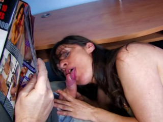 Chubby Milf Is Picked Up From The Store For Some Hard Sex