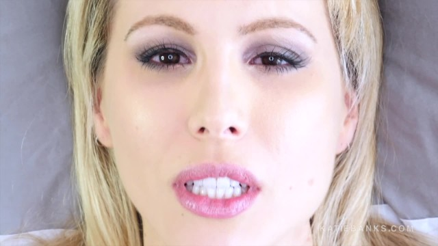 Experience masturbation personal Face fetish fucking up close and personal with blonde katie banks