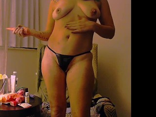 Goddess Worship Spa Fetish Topless Show Off Ignore Tease Findom Oiled MILF
